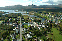 An aerial view of Sneem, County Kerry in 2006..Picture by Don MacMonagle