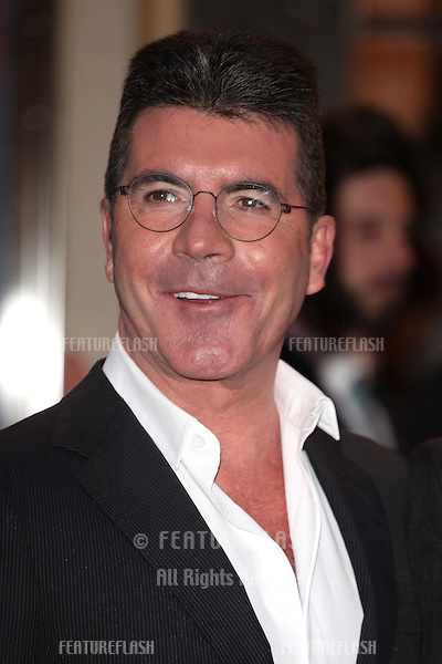 Simon Cowell arriving for the I Can't Sing Press Night, at the Paladium, London. 26/03/2014 Picture by: Alexandra Glen / Featureflash