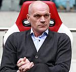 Nederland, Amsterdam, 7 oktober  2012.Seizoen 2012-2013.Eredivisie.Ajax-FC Utrecht.Jan Wouters, trainer-coach van FC Utrecht