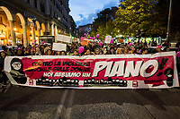 25.11.2017 - Manifestazione Nazionale Non Una di Meno, National Demo Not One Woman Less We've a Plan