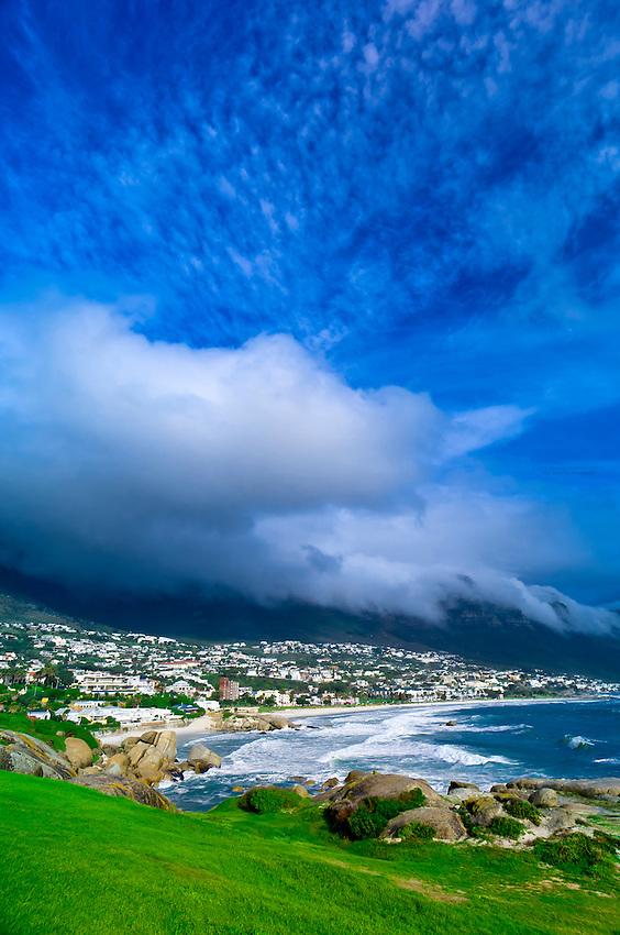 Glen Beach, Camp's Bay (near Cape Town), South Africa