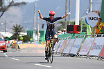 Sarah Storey (GBR), <br /> SEPTEMBER 17, 2016 - Cycling - Road : <br /> Women's Road Race C4-5 <br /> at Pontal <br /> during the Rio 2016 Paralympic Games in Rio de Janeiro, Brazil.<br /> (Photo by AFLO SPORT)