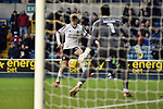 David Brooks of Sheffield United scores his goal to make it 1-1during the championship match at The Den Stadium, Millwall. Picture date 2nd December 2017. Picture credit should read: Robin Parker/Sportimage