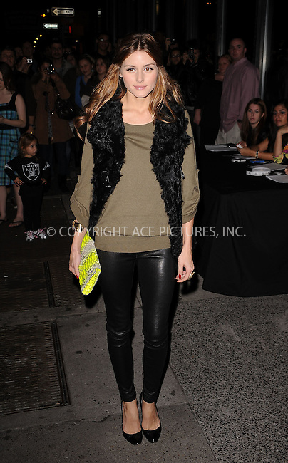 WWW.ACEPIXS.COM . . . . . ....November 15 2009, New York City....Olivia Palermo arriving at The Cinema Society & A Diamond Is Forever screening of 'The Private Lives Of Pippa Lee' at AMC Loews 19th Street on November 15, 2009 in New York City.....Please byline: KRISTIN CALLAHAN - ACEPIXS.COM.. . . . . . ..Ace Pictures, Inc:  ..(212) 243-8787 or (646) 679 0430..e-mail: picturedesk@acepixs.com..web: http://www.acepixs.com