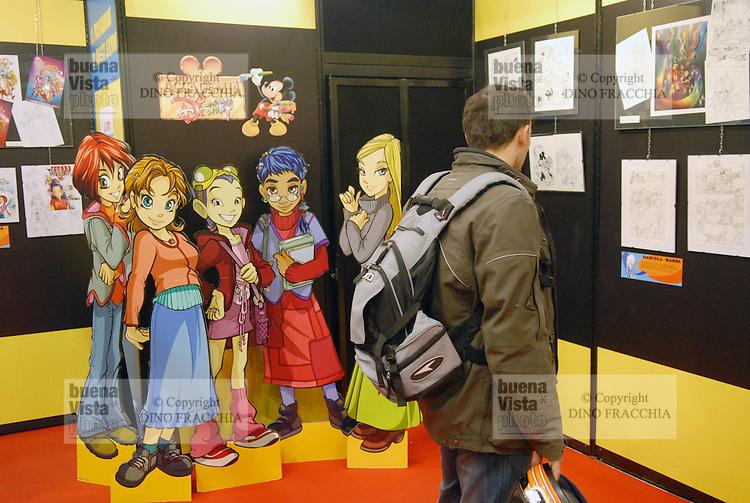 - Milan, Cartoomics, fair of the comic strips, cartoons and videogames....-  Milano, Cartoomics, fiera dei fumetti, cartoons e videogiochi