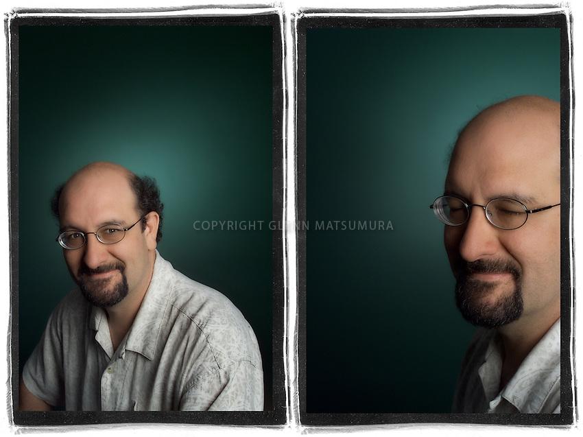 Chris Berner portrait.