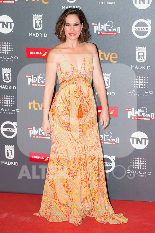 Celia Freijeiro attends to welcome party photocall of Platino Awards 2017 at Callao Cinemas in Madrid, July 20, 2017. Spain.<br /> (ALTERPHOTOS/BorjaB.Hojas)