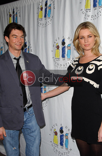 Jerry O'Connell and Rebecca Romijn<br />