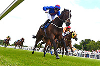 Winner of The Bathwick Tyres Handicap, Cotton Club ridden by William Carson and trained by Rod Millman during Afternoon Racing at Salisbury Racecourse on 13th June 2017