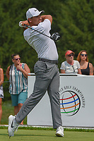 Jason Day (AUS) watches his tee shot on 4 during 4th round of the World Golf Championships - Bridgestone Invitational, at the Firestone Country Club, Akron, Ohio. 8/5/2018.<br /> Picture: Golffile | Ken Murray<br /> <br /> <br /> All photo usage must carry mandatory copyright credit (© Golffile | Ken Murray)