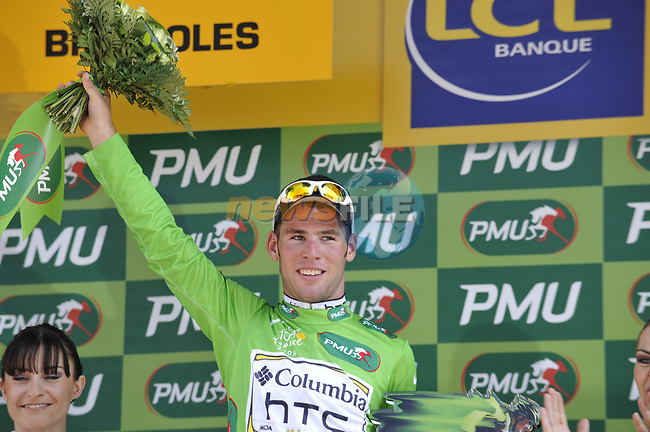 Mark Cavendish (GBR) Team Columbia High Road wins Stage 2 and takes over the Green Jersey of the Tour de France 2009 running 187km from Monaco to Brignoles, France. 5th July 2009 (Photo by Eoin Clarke/NEWSFILE)