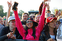 Pictured: Fans in the crowd. Saturday 13 July 2019<br /> Re: Stereophonics live concert at the Singleton Park in Swansea, Wales, UK.