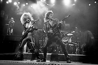 FILE - JUdas Priest at the Montreal Forum, <br /> July 23, 1986.<br /> <br /> PHOTO  : Pierre Roussel<br />  - Agence Quebec Presse