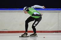 SCHAATSEN: HEERENVEEN: 05-10-2013, IJsstadion Thialf, Trainingwedstrijd, 3000m, Sven Kramer (3.42,94), ©foto Martin de Jong