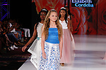 Models walk in outfits from the Elizabeth Cordelia collection, at The Society Fashion Week on September 9, 2018 at The Roosevelt Hotel in New York City, during New York Fashion Week Spring Summer 2019.