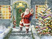 Marcello, CHRISTMAS SANTA, SNOWMAN, WEIHNACHTSMÄNNER, SCHNEEMÄNNER, PAPÁ NOEL, MUÑECOS DE NIEVE, paintings+++++,ITMCXM1316B,#X#