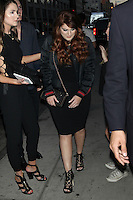 NEW YORK, NY - JUNE 22:   Meghan Trainor  seen on June 22, 2016 in New York City. Credit: Diego Corredor/Media Punch