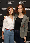 "Selina Fillinger and Margot Bordelon during the Photo Call for the Roundabout Theatre Production of ""Something Clean"" at the Roundabout Theatre Company Rehearsal Studios on April 11, 2019 in New York City."