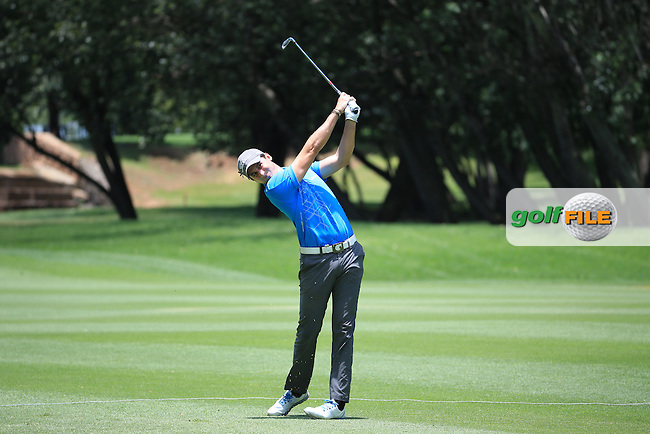Nicolo Ravano (ITA) in action during Round Three of the 2016 BMW SA Open hosted by City of Ekurhuleni, played at the Glendower Golf Club, Gauteng, Johannesburg, South Africa.  09/01/2016. Picture: Golffile | David Lloyd<br /> <br /> All photos usage must carry mandatory copyright credit (&copy; Golffile | David Lloyd)