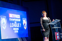 Picture by Allan McKenzie/SWpix.com - 25/09/2018 - Rugby League - Betfred Championship & League 1 Awards Dinner 2018 - The Principal Manchester- Manchester, England - Natalie Quirke.