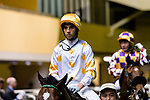 Jockey Joao Moreira during the Hong Kong Racing at Happy Valley Race Course on June 13, 2018 in Hong Kong, Hong Kong. Photo by Marcio Rodrigo Machado / Power Sport Images