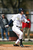 February 21, 2009:  First baseman Joe Agreste (24) of West Virginia University during the Big East-Big Ten Challenge at Jack Russell Stadium in Clearwater, FL.  Photo by:  Mike Janes/Four Seam Images
