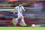 Yuri Berchiche Izeta of Real Sociedad in action during their La Liga match between Atletico de Madrid vs Real Sociedad at the Vicente Calderon Stadium on 04 April 2017 in Madrid, Spain. Photo by Diego Gonzalez Souto / Power Sport Images