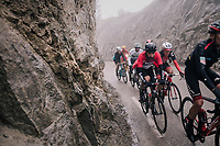 Thomas de Gendt (BEL/Lotto-Soudal) in the breakaway group<br /> <br /> 76th Paris-Nice 2018<br /> Stage 7: Nice &gt; Valdeblore La Colmiane (175km)