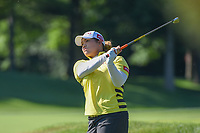 Ariya Jutanugarn (THA) watches her tee shot on 3 during round 1 of the 2018 KPMG Women's PGA Championship, Kemper Lakes Golf Club, at Kildeer, Illinois, USA. 6/28/2018.<br /> Picture: Golffile | Ken Murray<br /> <br /> All photo usage must carry mandatory copyright credit (&copy; Golffile | Ken Murray)