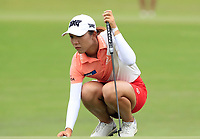 Lydia Ko (NZL) in action on the 11th during Round 1 of the HSBC Womens Champions 2018 at Sentosa Golf Club on the Thursday 1st March 2018.<br /> Picture:  Thos Caffrey / www.golffile.ie<br /> <br /> All photo usage must carry mandatory copyright credit (&copy; Golffile | Thos Caffrey)