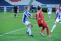 VOETBAL: HEERENVEEN: Abe Lenstra Stadion 12-12-2014, Damesvoetbal SC Heerenveen - FC Twente, uitslag 1-2, ©foto Martin de Jong