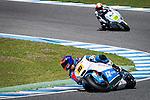 Jerez. Spain. 06/04/2014. CEV moto2 race in Jerez circuit. Jesko Raffin and Sebastian Porto