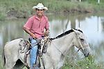 A Guatemalan rancher.