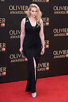 Emma Williams arriving for the Olivier Awards 2018 at the Royal Albert Hall, London, UK. <br /> 08 April  2018<br /> Picture: Steve Vas/Featureflash/SilverHub 0208 004 5359 sales@silverhubmedia.com