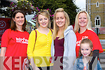 Anne Culloty, Emer Lyne, Catriona O'Doherty, Heidi and Gracie Grimwood at the Michelle O'Connor memorial walk in aid of Cystic Fibrosis