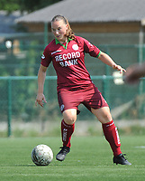 20180804 - ZULTE , BELGIUM : Zulte Waregem's Liselore Carlier pictured during a friendly soccer match between the women teams of Zulte Waregem and Bosdam Beveren  , during the preparation of the 2018-2019 season, Saturday 4 August 2018 . PHOTO DIRK VUYLSTEKE / SPORTPIX.BE