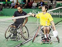 14-02-13, Tennis, Rotterdam, ABNAMROWTT,Shingo Kunieda - Michael Jeremaisz
