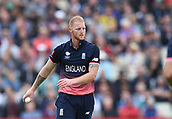 June 10th 2017, Edgbaston, Birmingham, England;  ICC Champions Trophy Cricket, England versus Australia; frustrated Ben Stokes of England