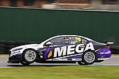 15th September 2017, Sandown Raceway, Melbourne, Australia; Wilson Security Sandown 500 Motor Racing; Garry Jacobson (56) drives the MEGA Racing Ford Falcon FG-X