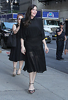 JUL 12 Liv Tyler at the Late Show with  Stephen Colbert