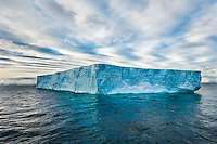 Antarctica. Icebergs in the Wendell Sea