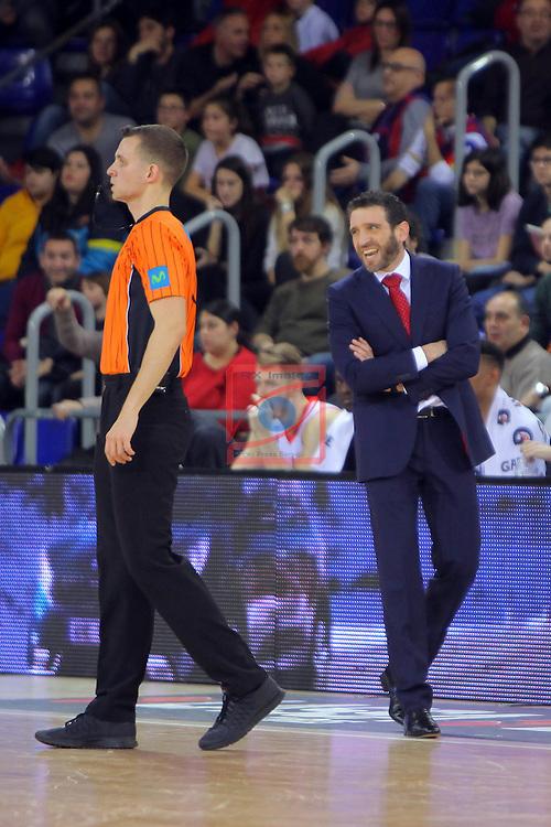 League ACB-ENDESA 2016/2017 - Game: 21.<br /> FC Barcelona Lassa vs ICL Manresa: 92-72.<br /> Ibon Navarro.
