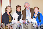 Joan O'Sullivan, Colette Boyle, Denis O'Sullivan and Nora O'Sullivan  at the Aine Nic Ghabhann memorial concert in the INEC Killarney on Friday night