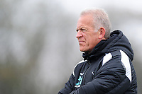 Alan Curtis, assistant coach for Swansea during the Swansea City Training at The Fairwood Training Ground in Swansea, Wales, UK. Tuesday 16 April 2019