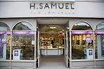 H. Samuel the jeweller shop, Colchester, Essex