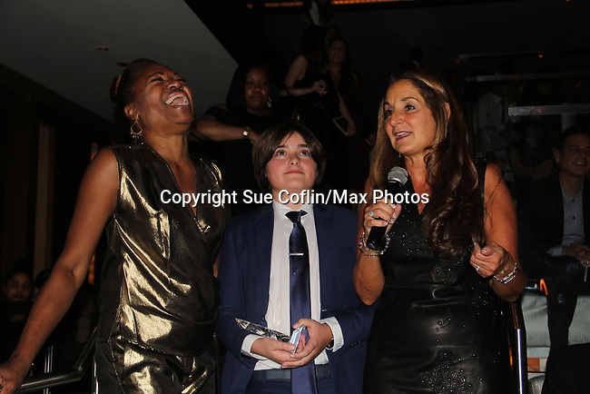 Bryan Byrne received the Deborah Koenigsberger Humanitarian Award - Hearts of Gold annual All That Glitters Gala - 24 years of support to New York City's homeless mothers and their cildren - (VIP Reception - Silent Auction) was held on November 7, 2018 at Noir et Blanc and the 40/40 Club in New York City, New York.  (Photo by Sue Coflin/Max Photo)