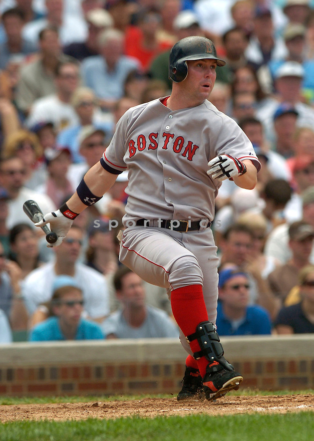 Trot Nixon during the Boston Red Sox v. Chicago Cubs game on June 10, 1005..Cubs win 14-6..David Durochik / SportPics
