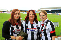 Grimsby fans before the Sky Bet League 2 match between Cambridge United and Grimsby Town at the R Costings Abbey Stadium, Cambridge, England on 15 October 2016. Photo by PRiME Media Images.