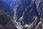 The Black Canyon of the Gunnison National Park in the early morning, Colorado, USA