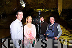 Presenter Brian Hurley, interviews Lisa Geaney, Owner, from Crag Cave on their 25th Anniversary for Irish TV here with David Pembroke, Producer, James Pembroke, Sound